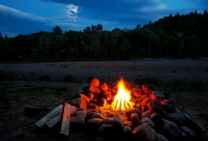 Cooking gourmet style when camping